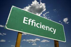 Efficiency Sign